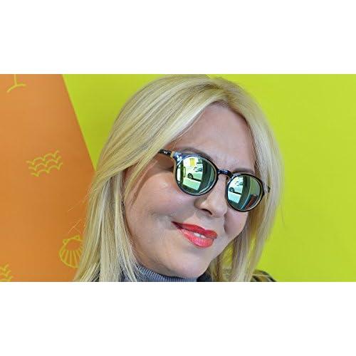 3c94de269e585 Lunettes de soleil vintage effet miroir Read Loop Sunrise Miror Tradition  verres miroités catégorie 3 protection