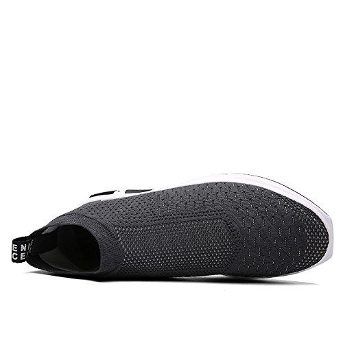 grigio Scarpe Basse Sneakers Sportive Ginnastica Outdoor Uomo da SITAILE 6xRwHqw