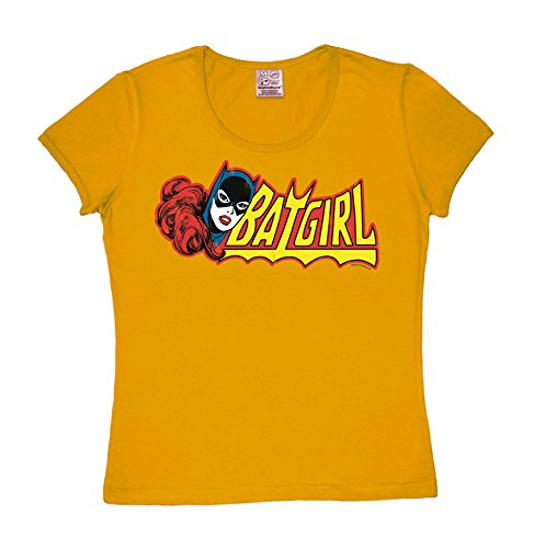 Camiseta para mujer Batichica - DC Comics - Batgirl - de color - Amarillo - Diseño original con licencia - LOGOSHIRT gelb