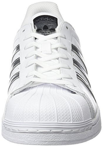 Footwear Superstar Metallic Core Blanco Silver Adulto Black Unisex White Adidas Zapatillas TXxyw