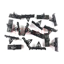 100xNylon Fender Flare & Rocker Moulding Clips For Jeep JK Wrangler 68039280-AA