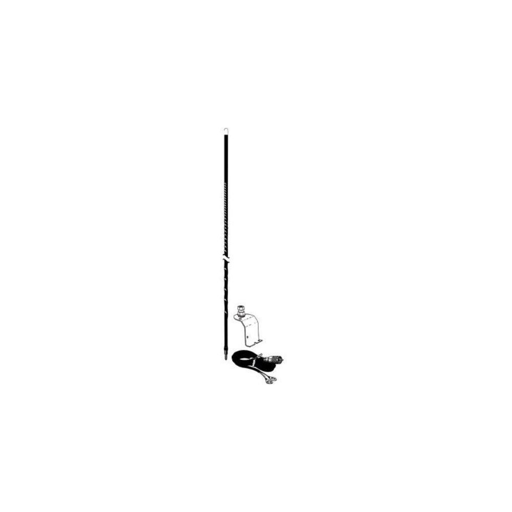 Accessories Unlimited AU320-B Three Foot Under Hood CB Antenna Kit (Black) LYSB000VXKIIK-SPRTSEQIP