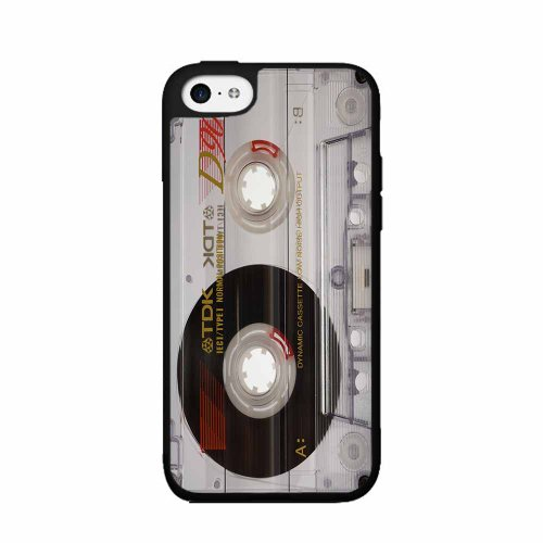 BleuReign(TM) Retro Cassette Tape - Phone Case Back Cover (iPhone 4 4s - 4s Cassette Case Tape Iphone