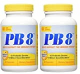 Nutrition Now PB 8 Probiotic Immune Support Supplement, 60 Count (120 Count)