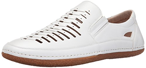 Stacy Adams Men's Naples Slip-On Loafer, White, 9.5 M US Adams Loafers