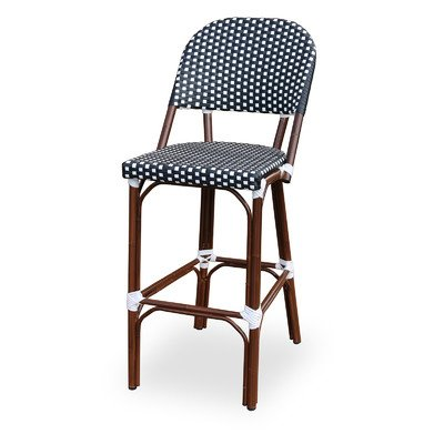 Paris Bar Chair Finish: Black / White (Source Contract Furniture Outdoor)