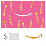 Amazon eGift Card - Birthday Pink Candles