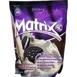 SYNTRAX Matrix 5.0 - Sustained Release Protein Cookies and Cream 5 lbs