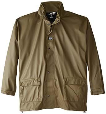Helly Hansen Impertech Ii Deluxe Jacket, Green Brown, XS