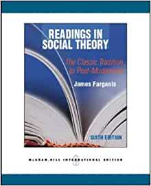 readings in social theory farganis pdf