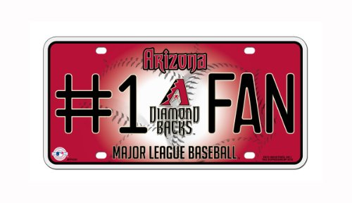 MLB Arizona Diamondbacks #1 Fan Metal Tag