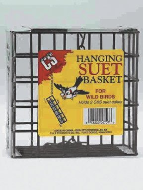 CandS Double Hanging Suet Basket, My Pet Supplies