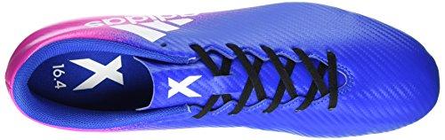 adidas X 16.4 Fxg, Zapatillas de Fútbol para Hombre Azul (Blue/footwear White/shock Pink)