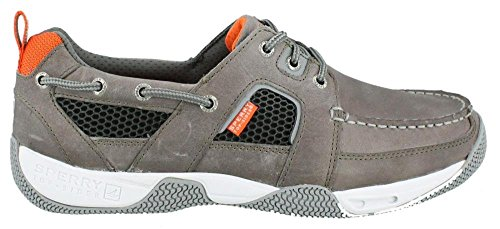 Sperry Mens Sea Kite Sport Moc Boat Shoe, Grey, 11.5