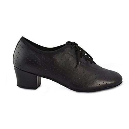 Jig Foo Latin Salsa Rumba Chacha Practice Ballroom Dance Shoes for Women YBYh7sc