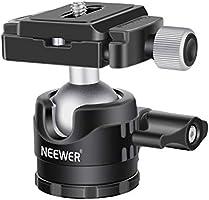 Neewer Low Profile Ball Head 360 Degree Rotatable Tripod Head for DSLR Cameras Tripod Monopod