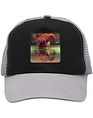 Unisex The Lovely Squirrel Adjustable Classic Hiphop Hat Baseball Cap Snapback Dad Hat