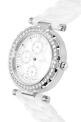 stella maris damen armbanduhr analog quarz premium keramik diamanten stm15r1 uhren. Black Bedroom Furniture Sets. Home Design Ideas