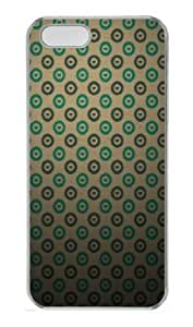 Apple iPhone 5S Case,iPhone 5S Cases - Heart Pattern PC Custom iPhone 5S Case Cover for iPhone 5S - Transparent...
