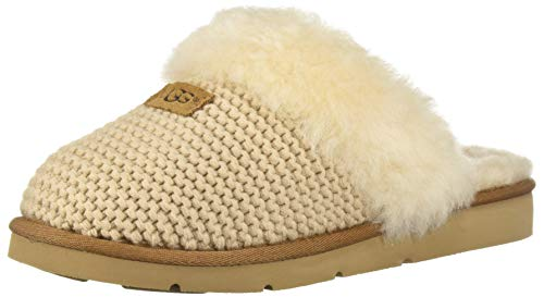 UGG Women's W Cozy Knit Slipper, Cream, 7 M US for sale  Delivered anywhere in USA