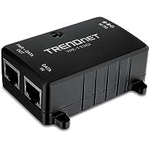 TRENDnet TPE-113GI Gigabit Power Over Ethernet Poe Injector (Black)