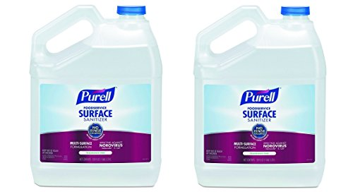 PURELL Foodservice Surface Sanitizer 1 Gallon - Kills Norovirus in 30 Seconds, Fragrance Free, RTU (2 X Pack of 4) by Purell