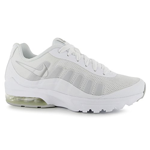 NIKE Air Max invigor Formation Chaussures Femme Blanc/Silv Gym formateurs Sneakers