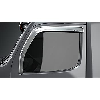 Dark Smoke 4 Piece DNA Motoring WVS-241 Vent Window Visor Deflector Rain//Sun Guard