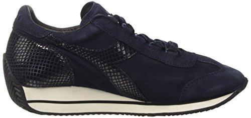 Diadora 60065 Femme W Reptile de Gymnastique Bleu Chaussures Blue Denim Equipe vr6xqnv