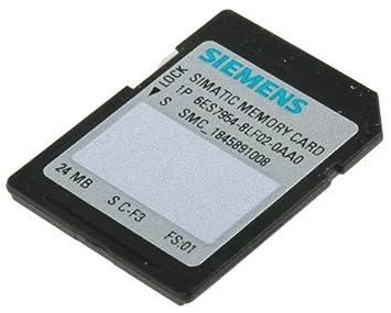 Siemens st70-1200 - Tarjeta memoria cpu/sinamics flash 24 mbytes ...
