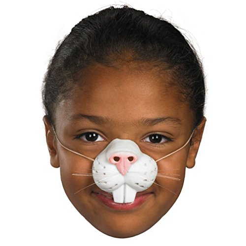 TP Child Bunny Rabbit Nose Latex with Elastic Band Easter Whiskers Girls Boys Kids (Vampire Cheerleader Costumes)