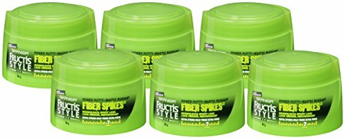 Garnier Fructis Style Fiber Spikes Power Putty, Extra Strong Hold - 7, 3 Ounce, (Pack of 6)