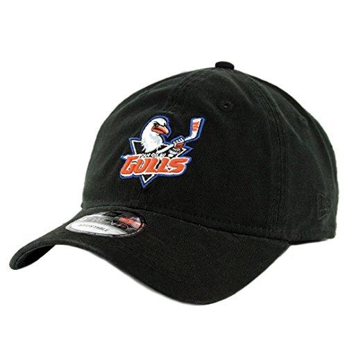d490b76313c New Era 920 San Diego Gulls Strapback Hat (Black) AHL Hockey Precurved Cap
