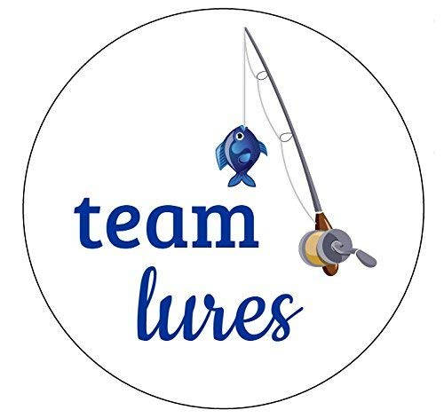 Team Lures Stickers - Set of 24
