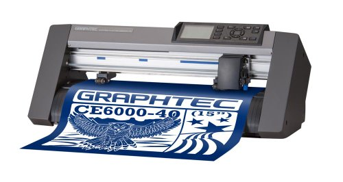 GRAPHTEC CE6000-40 Vinyl Cutter (aka: CraftROBO PRO) -