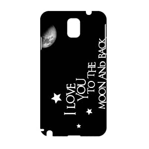I love you to the moon and back 3D Phone Case for Samsung note3
