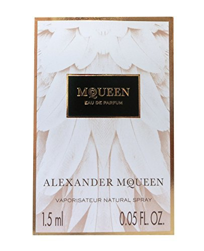 McQueen Eau de Parfum 0.05 oz / 1.5 ml Sample Size Vial by Alexander (0.05 Ounce Sample Vial)