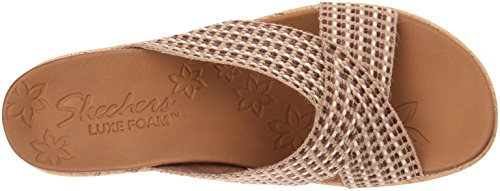 Skechers Delighted Natural 38554NAT, Sandalen