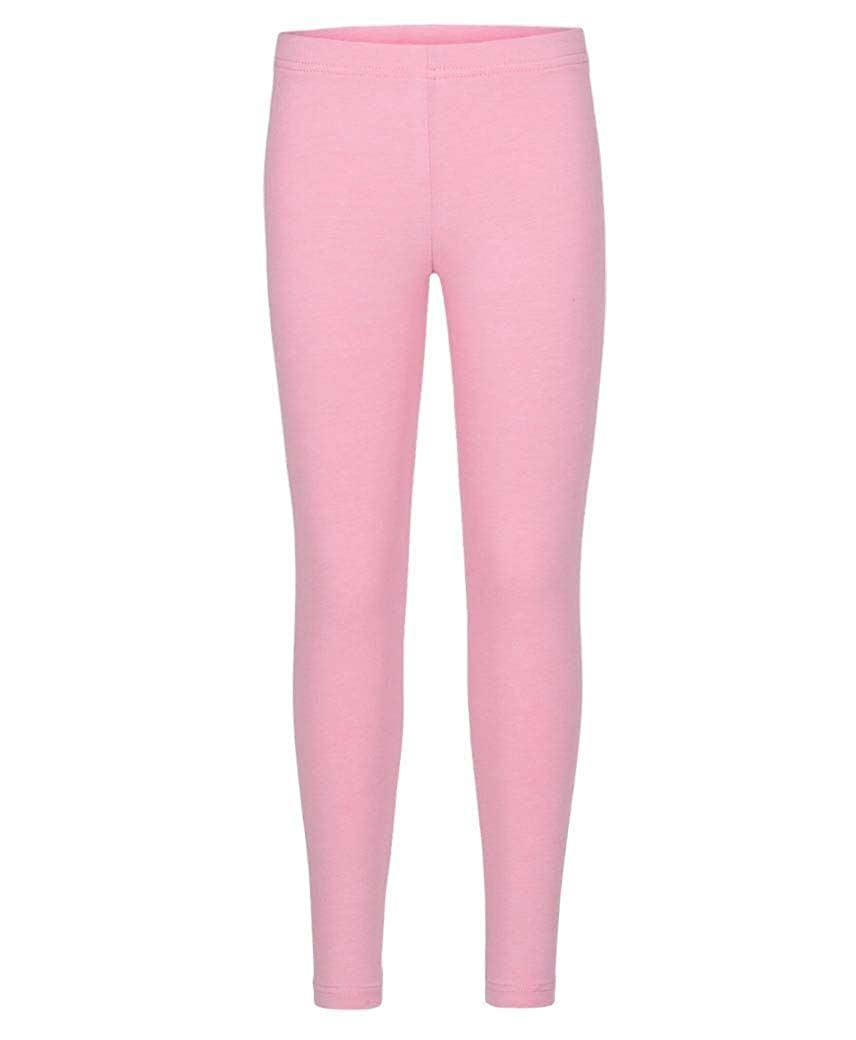 f2ea3f66 Girls Plain Leggings Kids Children Teen Basic Stretchy Full Length:  Amazon.co.uk: Clothing