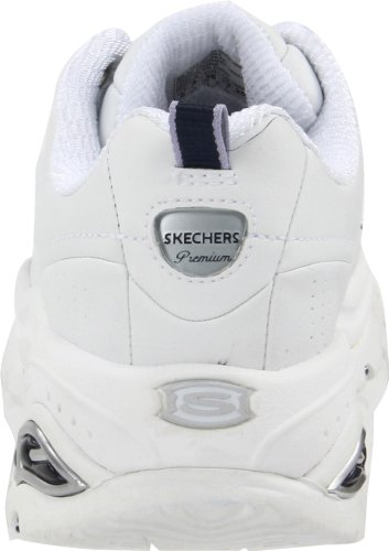 Skechers Premium Femmes US 8 Blanc Baskets
