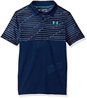 Under Armour Boys' Threadborne Blocked Polo