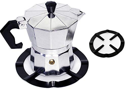 Xgood Pack Gas Stove Stands Non Slip Iron Holder Coffee Pot Holder Gas Stove Shelf for Kitchen Supplies