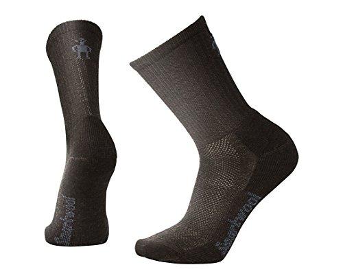 Men's Hike Ultra Light Crew Socks (Chestnut) Large