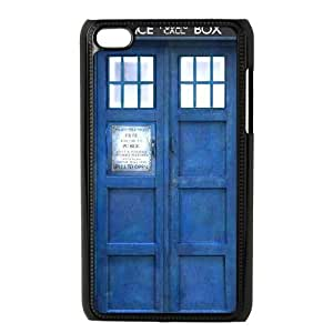 iPod Touch 4 Phone Case Black Doctor Who WQ5RT7523284