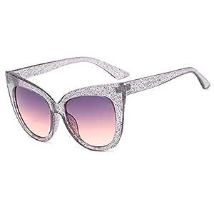 Sunglasses Women Trend Cat Eye Sunglasses Daily Accessories (Color : 4)