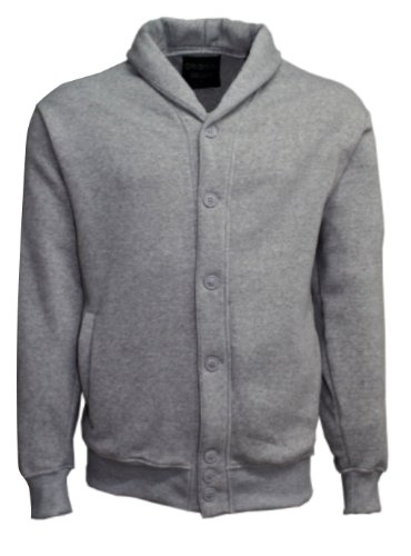 Men's Unlined Cardigan with Insulation for the Winter