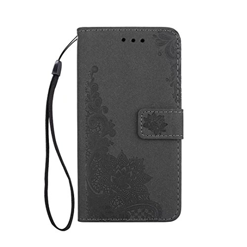 COWX Samsung Galaxy J5 2017 Hülle Kunstleder Tasche Flip im Bookstyle Klapphülle mit Weiche Silikon Handyhalter PU Lederhülle für Samsung Galaxy J5 2017 Tasche Brieftasche Schutzhülle für Samsung Gala noLNqG9