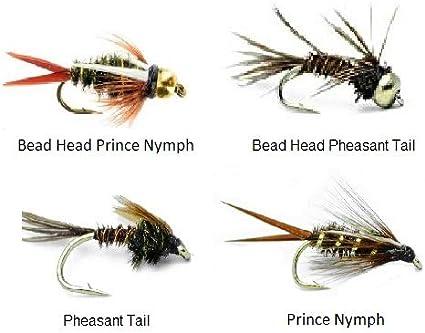 Gold Head Prince Nymph size 14 6 pcs