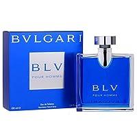Bvlgari BLV by Bvlgari para hombres, spray para baño de tocador, 3.4 oz