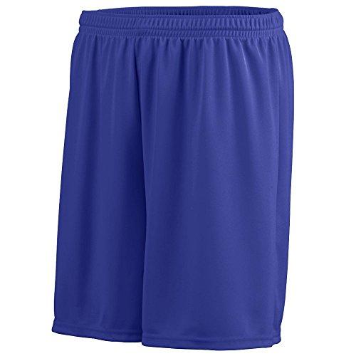 Augusta Sportswear Men's Octane Short L Purple ()